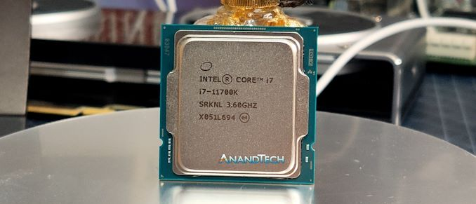 [AnandTech] Intel Core i7-11700K Review: Blasting Off with Rocket Lake
